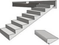 Лестничные ступени из ячеистого бетона СТБ 1330-2002