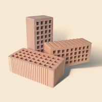 Кирпич керамический рядовой пустотелый утолщенный (КРПУ)