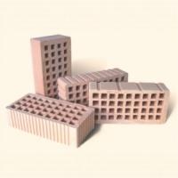 Кирпич керамический рядовой пустотелый одинарный КРПО М 150